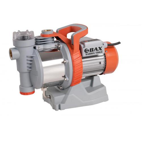 Αντλία επιφάνειας νερού INOX αυτόματης αναρρόφησης με εσωτερικό φίλτρο και ελεγκτή ροής BAX GARDEN TOOLS B-110039
