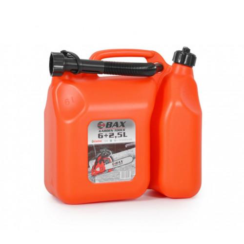 Δοχείο καυσίμων 6+2.5L BAX GARDEN TOOLS KOMBI