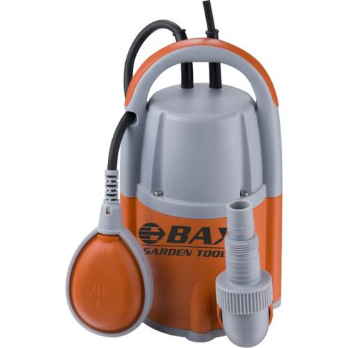 Υποβρύχια πλαστική αντλία όμβριων υδάτων BAX GARDEN TOOLS Q1-750