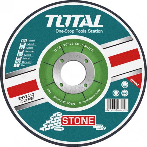 Δίσκος κοπής δομικών υλικών - κοπής πέτρας Φ125 50τεμ TOTAL TAC2221251
