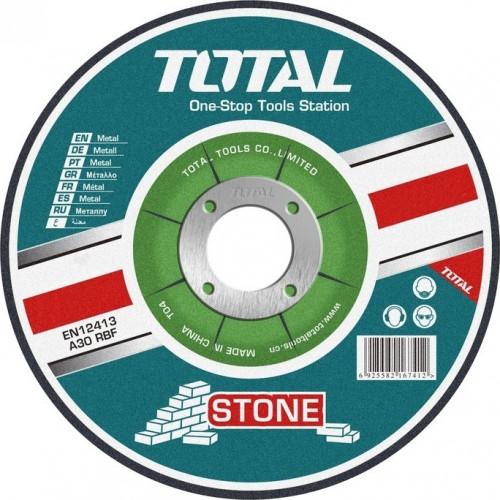 Δίσκος κοπής δομικών υλικών - κοπής πέτρας Φ230 TOTAL TAC2222301