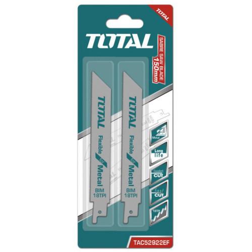Λάμα σπαθόσεγας μετάλλου 2τεμάχια TOTAL TAC52922EF