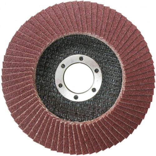 Δίσκος γυαλίσματος μετάλλου / ΙΝΟΧ πολύπτερο Φ115 P60 TOTAL TAC631152