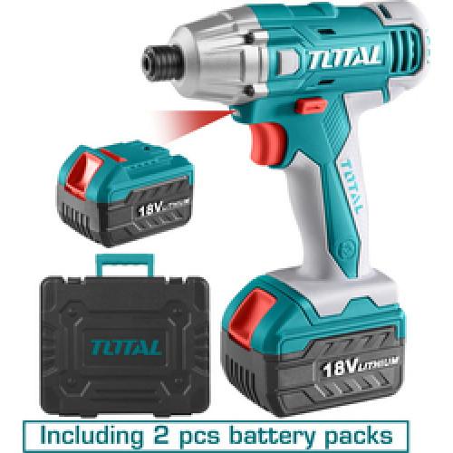 Παλμικό κατσαβίδι μπαταρίας λιθίου TOTAL TIDLI228181