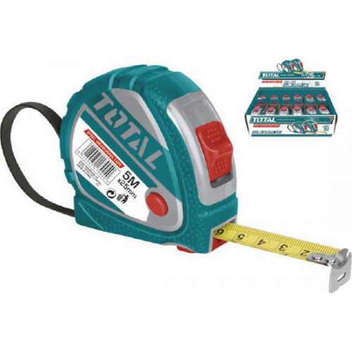 Μετροταινία 5mX25mm TOTAL TMT126052