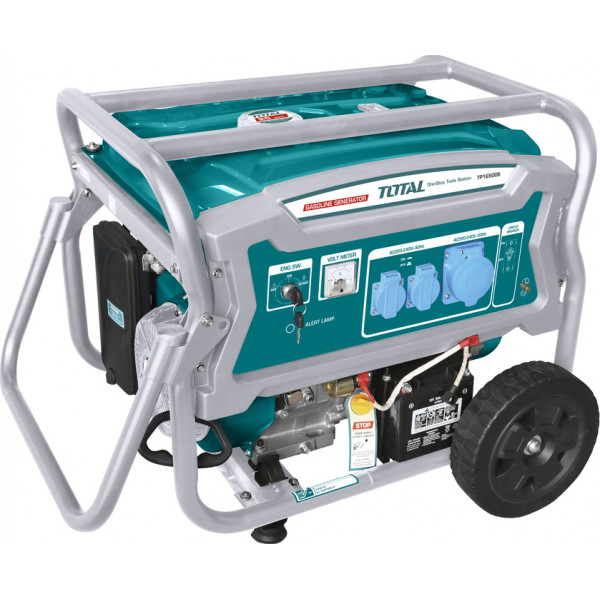Βενζινοκίνητη ηλεκτρογεννήτρια 6000W One Stop Tools Station TOTAL TP165006