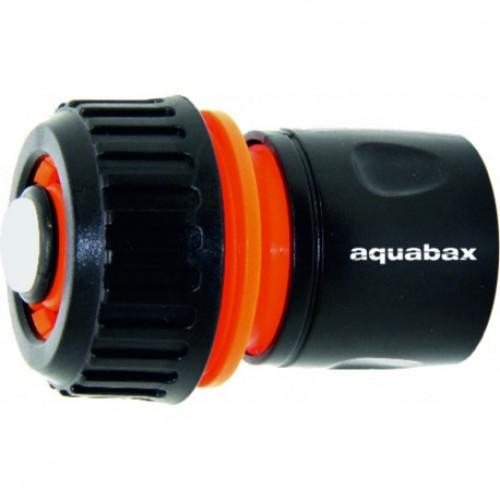 """Ταχυσύνδεσμος συνεχούς ροής με βαλβίδα STOP 3/4"""" AQUABAX TS3024"""