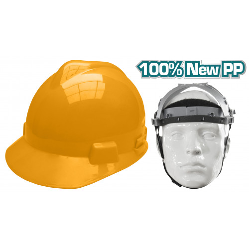 Κράνος προστασίας κίτρινο TSP612