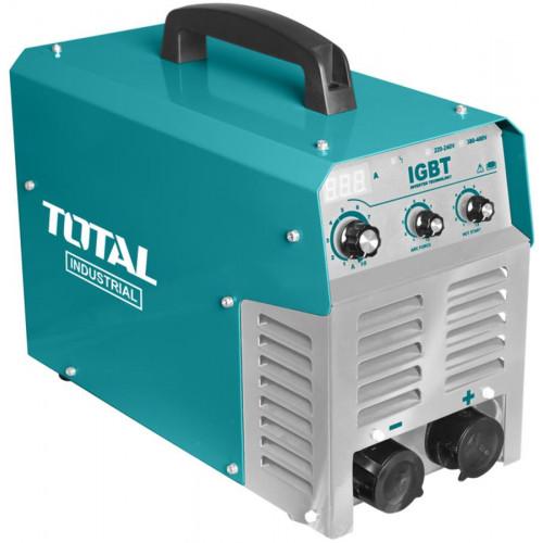 Ηλεκτροσυγκόλληση INVERTER 250A Μονοφασική/τριφασική TOTAL TW22505