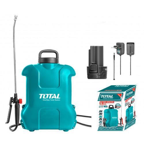 Ψεκαστήρας πλάτης μπαταρίας λιθίου 16 Lit TOTAL TSPLI1212