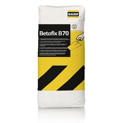 Ρητινούχο ινοπλισμένο επισκευαστικό τσιμεντοκονίαμα Betofix B70 BAUER 25 KG
