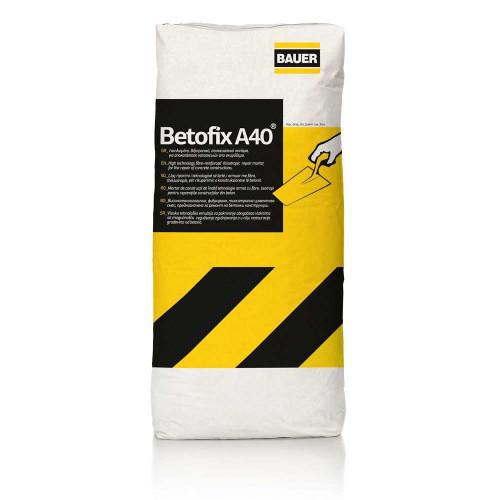 Ρητινούχο επισκευαστικό τσιμεντοκονίαμα Betofix A40 BAUER 25 KG