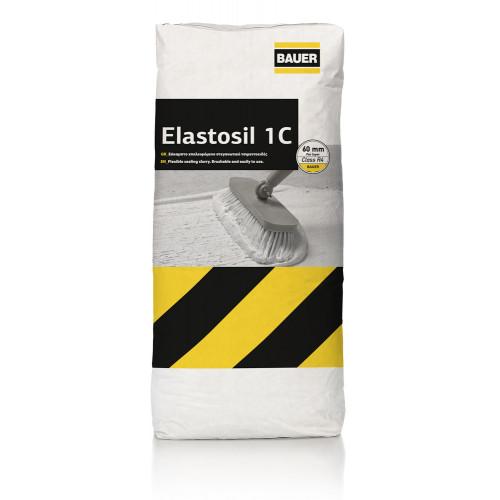 Εύκαμπτο ινοπλισμένο τσιμεντοειδές σύστημα στεγανοποίησης 1 συστατικού BAUER Elastosil 1C 18Kg
