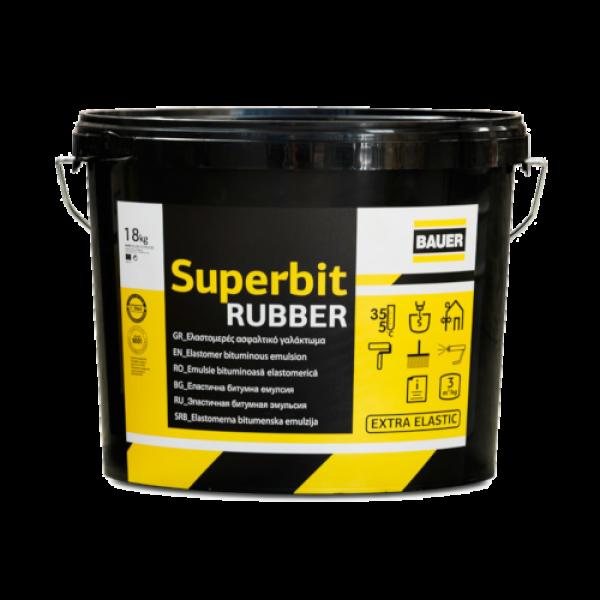 Ασφαλτικό γαλάκτωμα στεγανοποίησης Superbit BAUER 18kg
