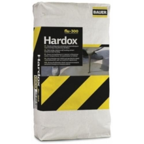 Ταχύπηκτο υπερρευστο επαγγελματικό υλικό επίστρωσης δαπέδων Hardox flu 300 BAUER 25kg